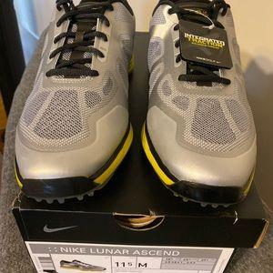 NWT Nike Lunar Ascend Golf shoes